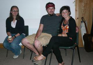 Sarah, Jimmie, and Megan