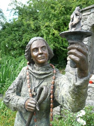 Brigid statue mg