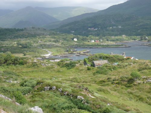 Beara rock inland view