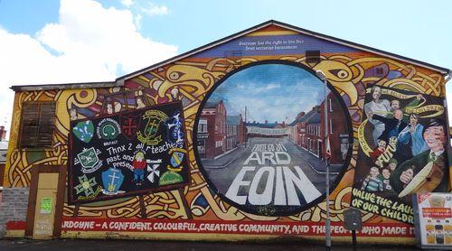 Ardoyne mural