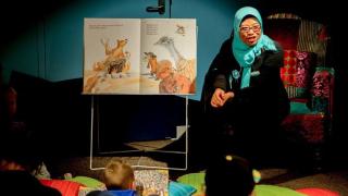 Indonesian storyteller