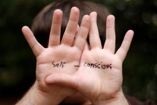 Self concious