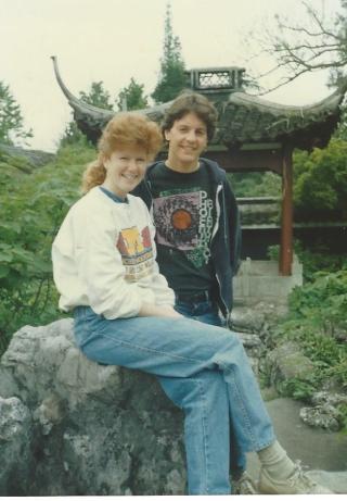 Pam & Paul in Hangzhou