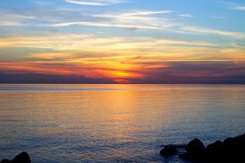 Calabria evening