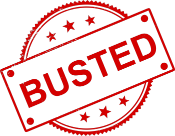 Busted for tmsg